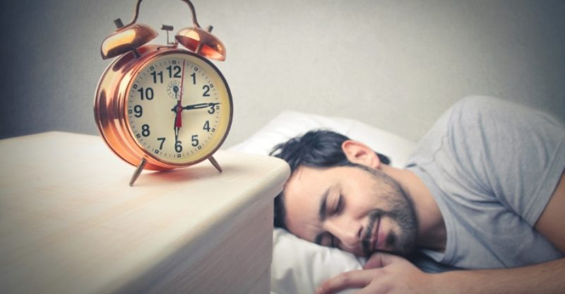 Good Sleeping Habits : Man Comfortably Sleeping