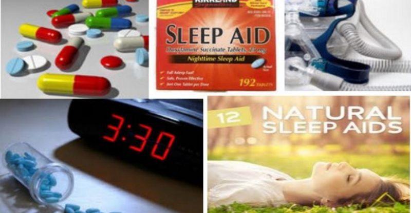 Sleep Aids Collage